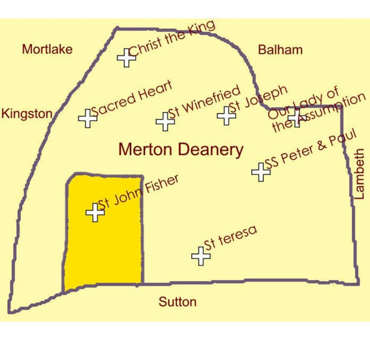 Deanery Map